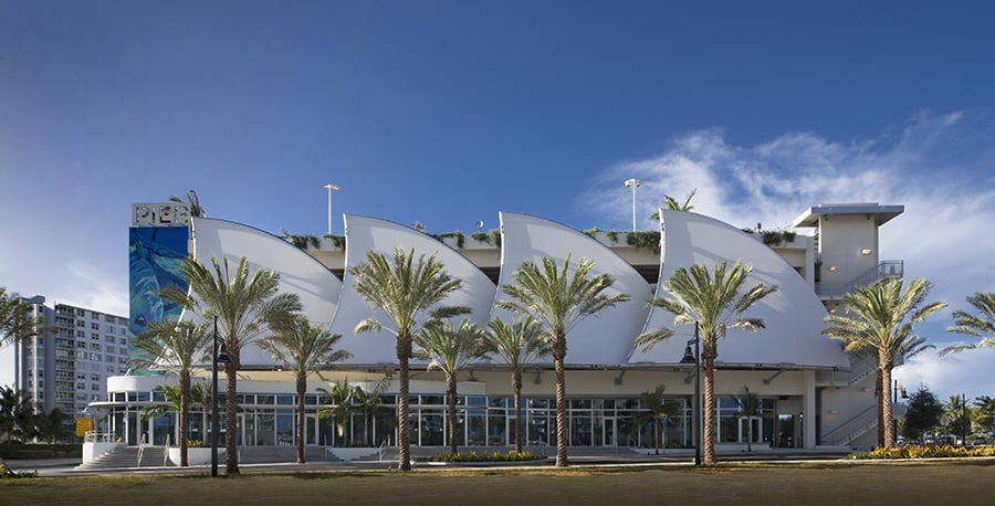 Pompano Beach Parking Garage In Florida Designed By Csa Architects Celebrates First Anniversary